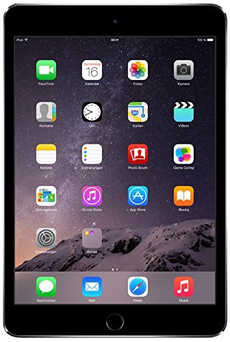 Apple iPad Mini 3 with Retina Display Wi‑Fi and Cellular, 16 GB Space Grey