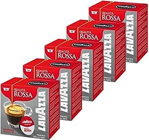 Order Lavazza A Modo Mio QUALITA ROSSA, Pack of 5, 5 x 16 Capsules - Lavazza