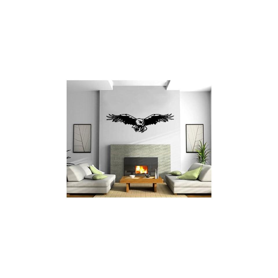 Flying Eagle Wings Wall Mural Vinyl Art Sticker M111