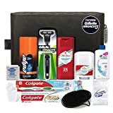 Convenience Kits Men's Premium 12-Count Travel Kit, Featuring: Mach3 Men's Disposable Razor (Tamaño: 12 Count)