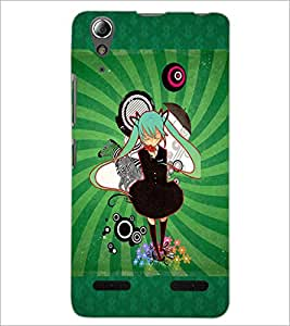 PrintDhaba Friends D-4589 Back Case Cover for LENOVO A6000 PLUS (Multi-Coloured)
