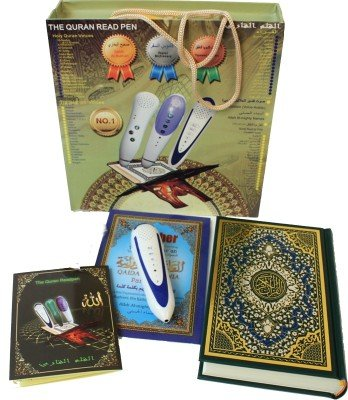 Digital Quran Pen Reader with Tajweed Quran and 4 extra books