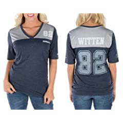 Dallas Cowboys Jason Witten My Player Ladies Navy Top - T-Shirt by Nike