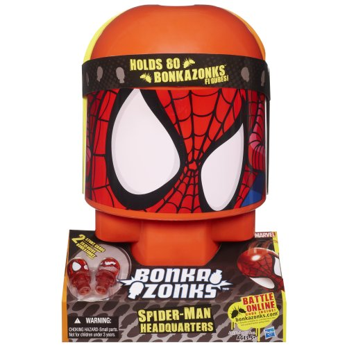 Bonkazonks Marvel Spider-Man Headquarters