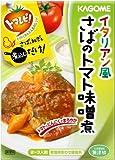 カゴメ イタリアン風さばのトマト味噌煮 110g×10個