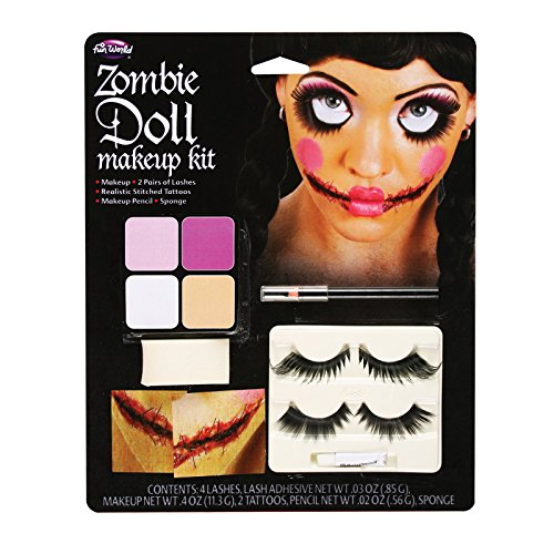 Zombie Doll Makeup Standard - 1
