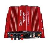 Kinter MA200 4チャンネル ハイパワーアンプ SD/MMC/USB対応 TDA7388採用 並行輸入