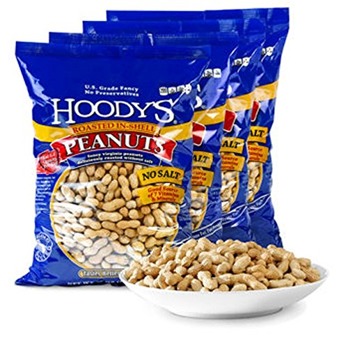 Hoody's® In-shell Peanuts Roasted Unsalted 4-pack (Unsalted Roasted Peanuts In Shell compare prices)
