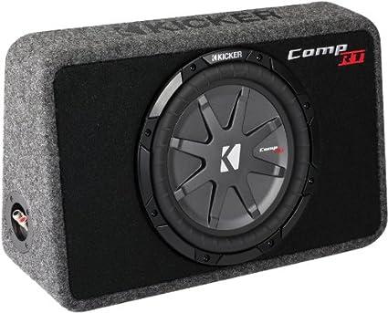 KICKER Comp RT 40TCWRT104 10 1200W Slim système fermé Car Audio Compact pour caisson de basse