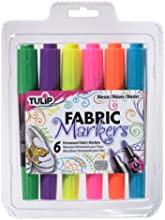 Tulip Dual-Tip Fabric Markers -Pastels