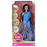 Barbie In India Doll - Blue