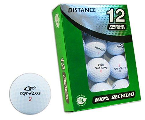 Second Chance Top-Flite-Lake-Golfbälle, 12 Stück