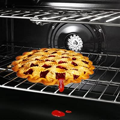 """Pack of 2, The Elixir Eco ReUsable Non-Stick Oven Liner Large 23"""" x 16.25"""" Dishwasher Safe Cleaner"""