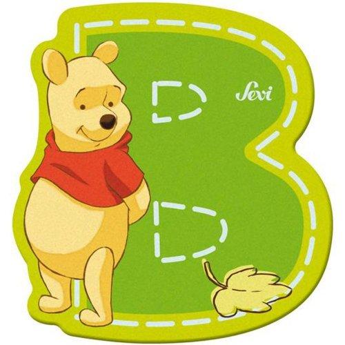 Sevi 82760 Klebebuchstabe B Winnie the Pooh