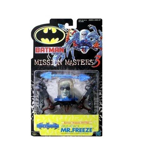 Batman: The New Batman Adventures Mission Masters 3 Virus Attack Mr. Freeze Action Figure - 1