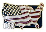 USA Flag Lapel Pin-Country - Entire United States