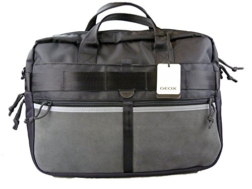 Geox Unisex Laptop Bag Black U24J1GB3102C9999 GT-14
