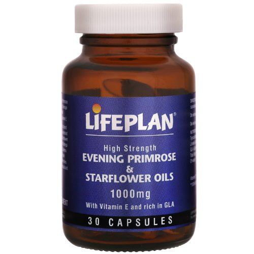 Lifeplan Evening Primrose Oil and Starflower Oil 1000mg 30 Capsules