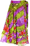 Indian Skirt Womens Magic Wrap Around India Clothing Multicolor