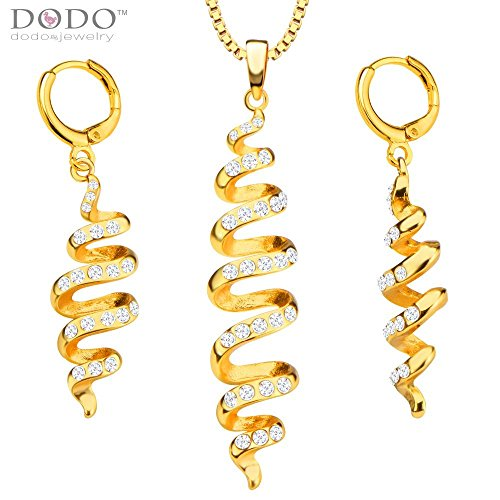 unique-fashion-distorted-jewelry-set-women-pendants-necklaces-earrings-18k-gold-plated-india-jewelry