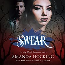 Swear Audiobook by Amanda Hocking Narrated by Hannah Friedman
