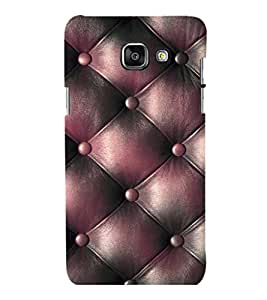 printtech Leather Pattern Back Case Cover for Samsung Galaxy A3 2016 Edition