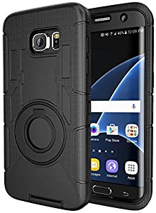 Note 5 Case,Galaxy Note 5 Holster case,Hybrid Dual Layer Combo Armor Defender Protective Case With Kickstand+Belt Clip Holster For Samsung Galaxy Note 5 by Case-Cubic
