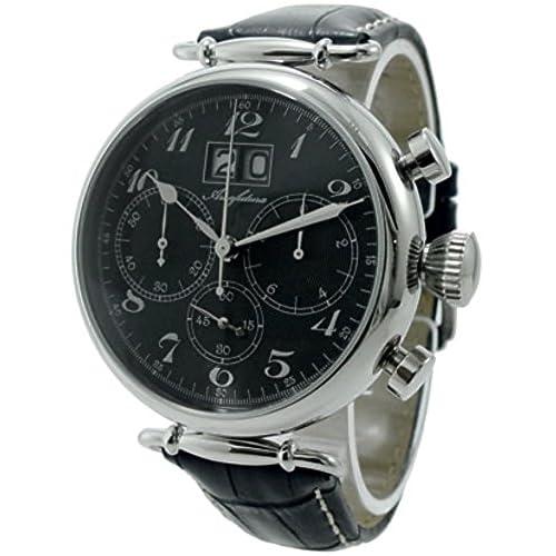 アルカフトゥーラ ARCA FUTURA クオーツ クロノグラフ メンズ 腕時計 420BKBK [並行輸入品]