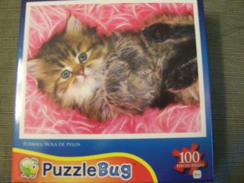 Puzzlebug 100 Piece Jigsaw Puzzle - Furball