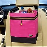 High Road Hanging Car Litter Bag - Pink