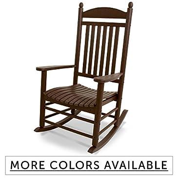 All Weather Slat Porch Rocker Rocking Chairs
