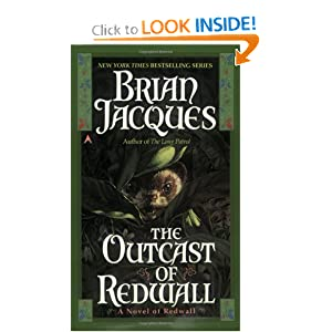Outcast of Redwall by Brian Jacques and Allan Curless