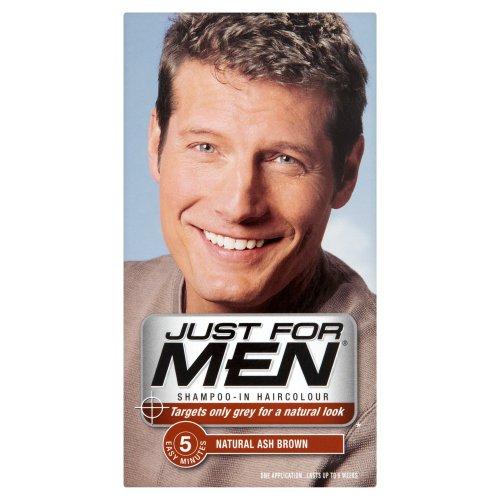 Just For Men H20 Ash Brown Hair Color 60 ml