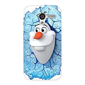 Gorgeous Snowy Olfa Multicolor Back Case Cover for Moto X