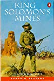 King Solomon's Mines (Penguin Readers (Graded Readers)) (0140814647) by Haggard, H. Rider