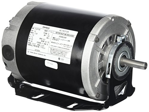 Century formerly AO Smith GF2054 1/2 hp, 1725 RPM, 115 volts, 48/56 Frame, ODP, Sleeve Bearing Belt Drive Blower Motor (1hp Blower Motor compare prices)