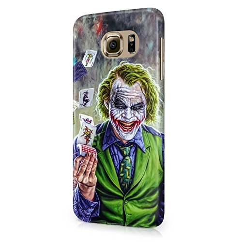Joker Cards Hard Snap-On Protective Case Cover For Samsung Galaxy S6 (Not Edge)