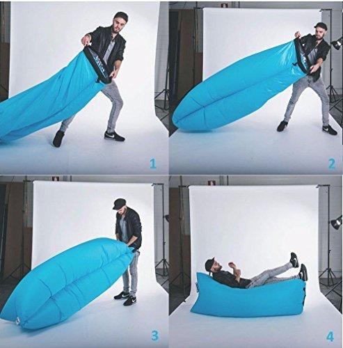 Gernic air sofa laysack hangout aufblasbar luftcouch gro e for Sofa aufblasbar