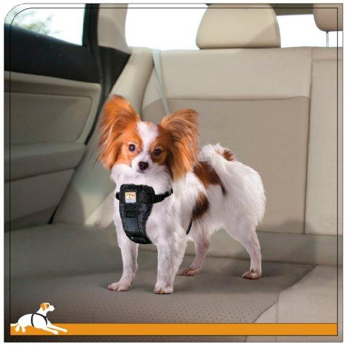 Kurgo Tru Fit Crash Tested Dog Harness Black Large