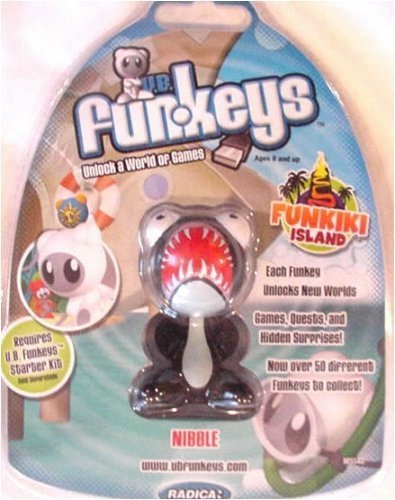 UB Funkeys (Rare Nibble) Funkiki Island [ Black Nibble ]