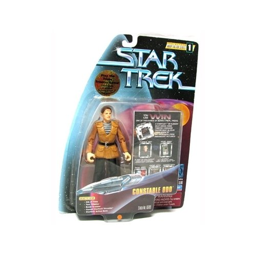 Star Trek Deep Space Nine: Warp Factor Series 1 Constable Odo 4 inch Action Figure - 1