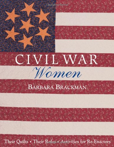 Cover Image: Civil War Women by Barbara Brackman
