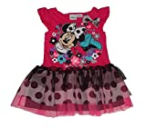 Disney Minnie Mouse Girls Polka Dot Tutu Dress (4T)