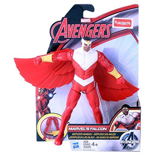 "Avengers 6"" Mighty Battlers Figure Marvel's Falcon"