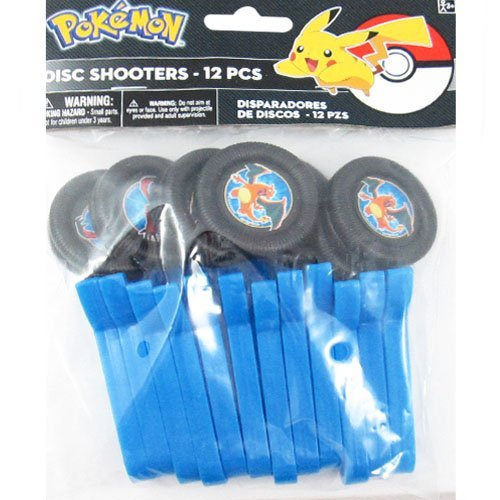 Pokemon 'Pikachu and Friends' Disc Shooters (12ct)