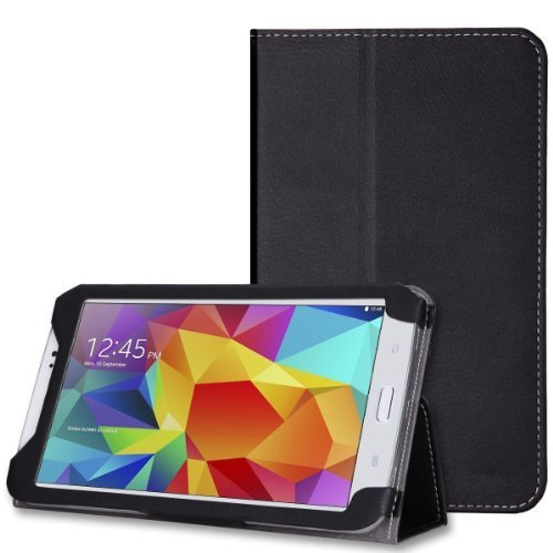 Wawo Creative Folio Cover Case For Samsung Galaxy Tab 4 7.0 Inch Tablet - Green front-914417