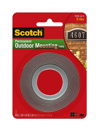4-pack-of-scotch-exterior-mounting-tape-1-inch-by-60-inch-by-3m