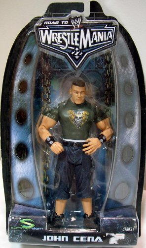 Buy Low Price Jakks Pacific WWE ROAD TO WRESTLEMANIA 22 JOHN CENA ACTION FIGURE (B004GIC44W)