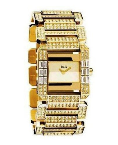 D & G DW0220 Royal Ladies Crystal Bracelet Watch