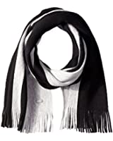 BOSS Hugo Boss Men's Fadis Striped Knit Scarf
